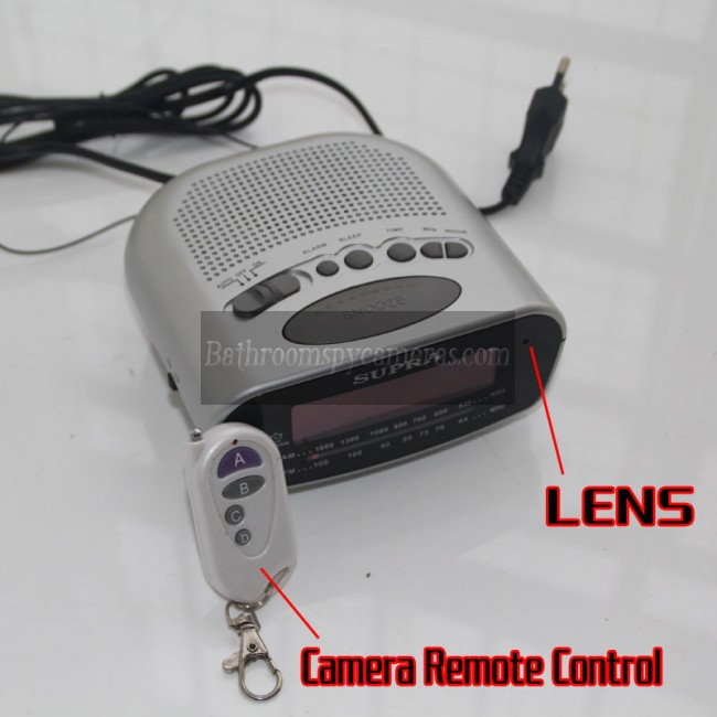 スパイカメラ時計無線1080P DVR 16G HD 動作感知 最高な 隠しカメラ