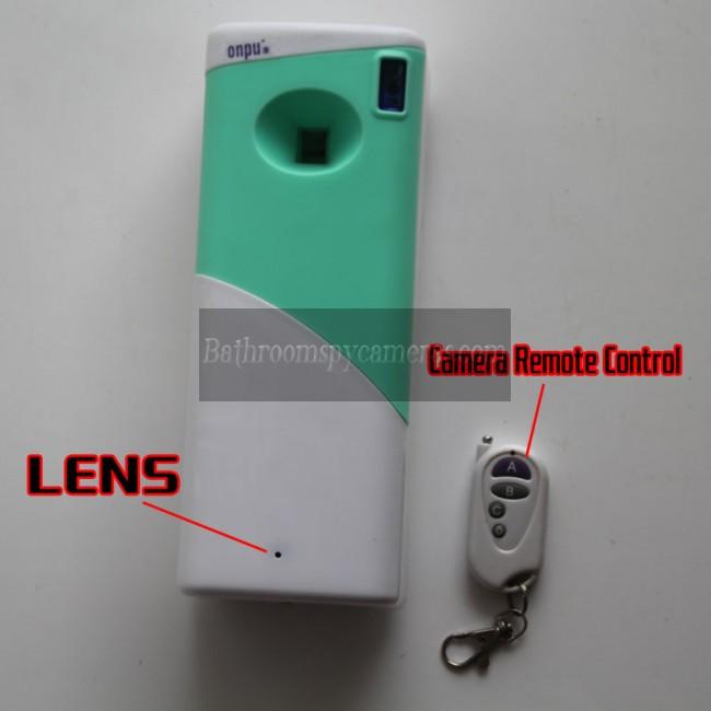 消臭スプレー隠しカメラ1080P DVR 32G HD 動作感知 最高な 隠しカメラ