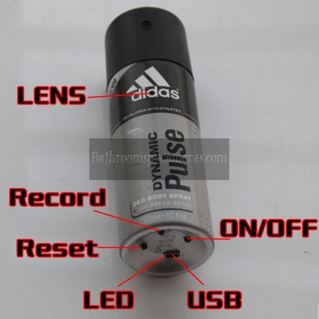 男性のためのフレグランス隠しカメラ1080P DVR 32G HD 動作感知 最高な 隠しカメラ