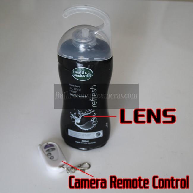 シャンプースパイカメラ720P DVR 16G HD 動作感知 最高な 隠しカメラ
