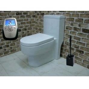 hidden cameras wireless bathroom - Hidden Bathroom Wireless Spy Camera In Spy Toilet Brush Hidden Camera Recorder