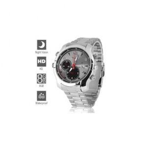 HD hidden Spy Watch Camera - 8GB 1080P Full HD Spy Camera Watch with Night Vision
